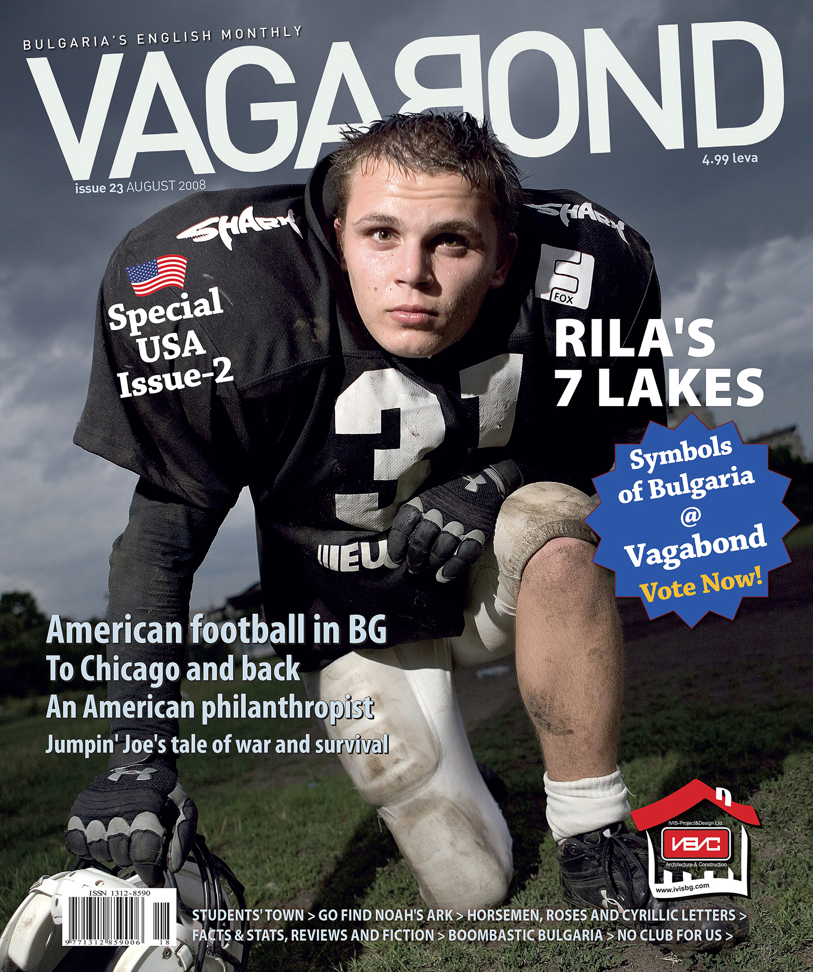 cover issue 23, August 2008, Vagabond magazine